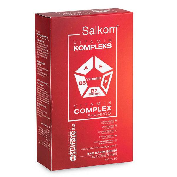 Salkom Vitamin Kompleks Şampuan
