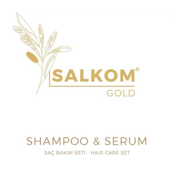 Salkom Gold Logo